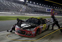 Pit stop Michael McDowell, Circle Sport Leavine Family Racing Chevrolet