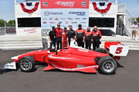Indy Lights Photos - Race winner Zach Veach, Belardi Auto Racing