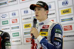 Press conference, Ben Barnicoat, HitechGP Dallara F312 – Mercedes-Benz