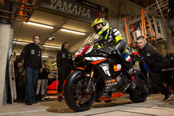 #15 Yamaha: Paul Carew, Johann Mace, Herve Cheron, Renaud Beurdeley