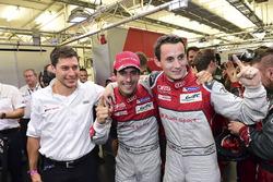 Polesitters: #8 Audi Sport Team Joest Audi R18: Lucas di Grassi, Loic Duval, Oliver Jarvis
