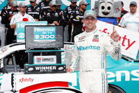 NASCAR XFINITY Photos - Denny Hamlin, Joe Gibbs Racing Toyota race winner