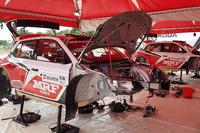 Other rally Photos - Skoda Fabia R5, Team MRF area