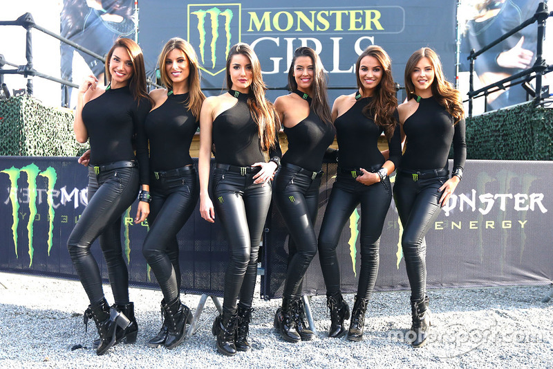 Lovely Monster Energy girls at French GP