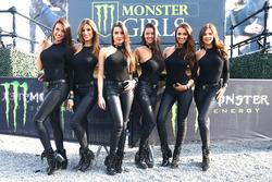 Lovely Monster Energy girls