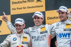 Podium, Marco Wittmann, BMW Team RMG, BMW M4 DTM, Robert Wickens, Mercedes-AMG Team HWA, Mercedes-AMG C63 DTM, Christian Vietoris, Mercedes-AMG Team Mücke, Mercedes-AMG C63 DTM