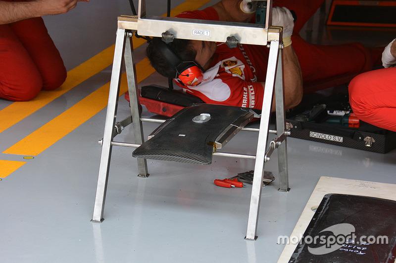 Ferrari carbon fibre ballast