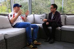 #25 Algarve Pro Racing Ligier JSP2 Nissan: Chris Hoy with Erwin Jaeggi, Motorsport.com Editor