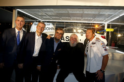 Ed Bennett, Chief Executive Officer INSA; Jens Marquardt, BMW Motorsport Director; Ludwig Willisch, BMW North America Chief; John Baldessari; Bill Auberlen