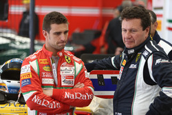 #50 AF Corse, Ferrari 488 GT3: Alessandro Pier Guidi with Peter Mann