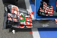 Formule 1 Photos - Détail de l'aileron avant de la Toro Rosso STR11