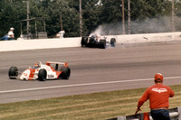 IndyCar Photos - Crash Al Unser Jr.