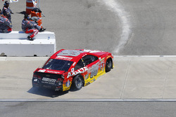 Dale Earnhardt Jr., Hendrick Motorsports Chevrolet, heads to the garage after a wreck