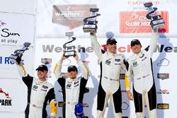 Podium: Winner #4 Corvette Racing Chevrolet Corvette C7.R: Oliver Gavin, Tommy Milner; second place #3 Corvette Racing Chevrolet Corvette C7.R: Antonio Garcia, Jan Magnussen
