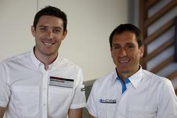 #91 Porsche Motorsport Porsche 911 RSR: Kevin Estre und #78 KCMG Porsche 911 RSR: Wolf Henzler