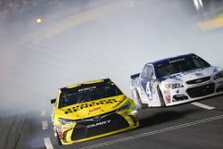 Matt Kenseth, Joe Gibbs Racing Toyota crash