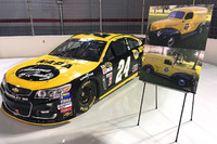 NASCAR Sprint Cup Photos - Throwback scheme for Chase Elliott, Hendrick Motorsports Chevrolet