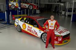 Scott Pye and his Penske V8 Supercar