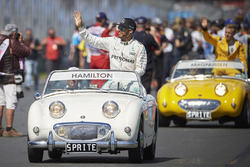 Lewis Hamilton, Mercedes AMG F1 Team during the drivers parade