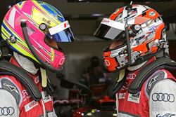 Loic Duval, Oliver Jarvis, Audi Sport Team Joest