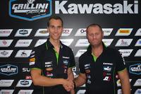 World Superbike Photos - Ondrej Jezek, Andrea Grillini, Grillini team manager
