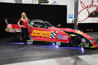 NHRA Photos - Courtney Force with Chevrolet Camaro Funny Car