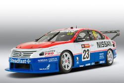 Special retro livery for Michael Caruso and Dean Fiore, Nissan Motorsports