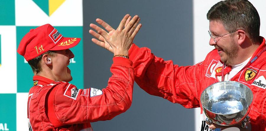 Schumachers take control in Brazilian GP