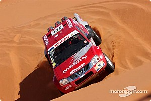 Dakar: Stage seven marathon Ghadames to Ghat notes