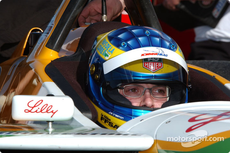 CHAMPCAR/CART: Rookie Bourdais fastest at Laguna test 2003-01-25
