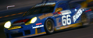 Racer's Group Porsche leads Rolex 24 at Daytona