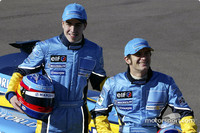Renault drivers ready for action