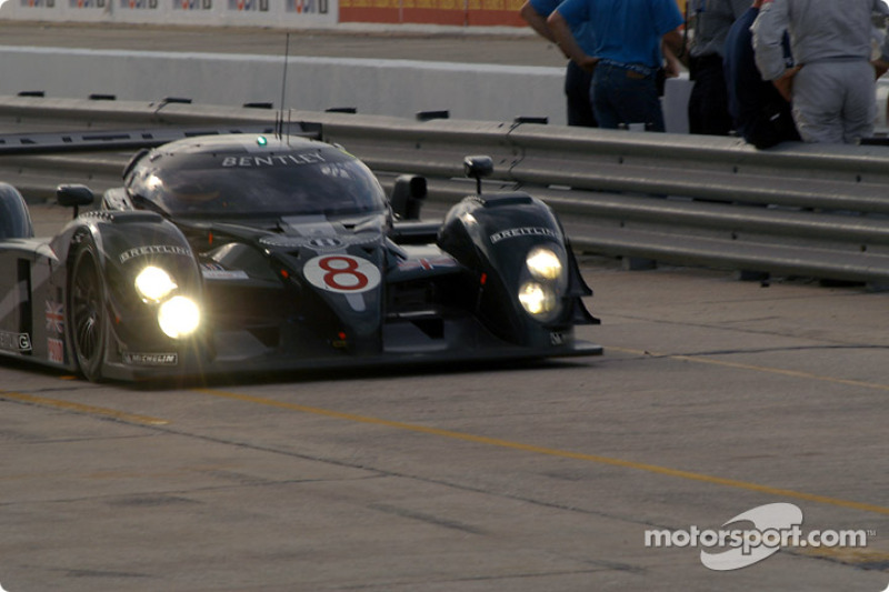 Bentley leads Wednesday morning practice at Sebring