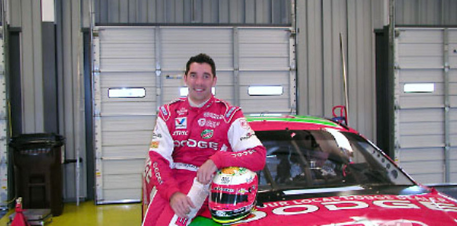 CHAMPCAR/CART: Max Papis tests Winston Cup car