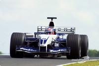 Montoya ahead after British GP Saturday practices