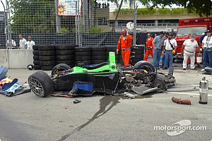 Miami: Intersport Racing fixes car for race start