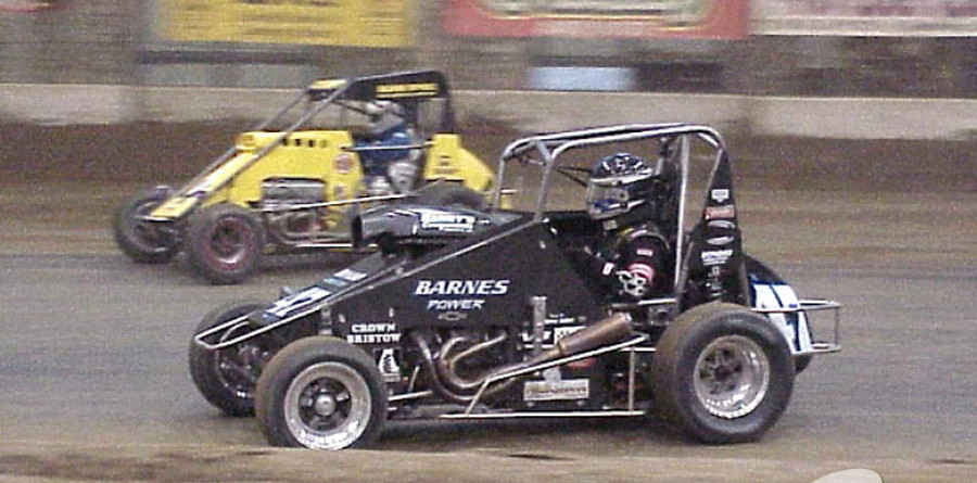 Yeley's Chili Bowl Alphabet run in progress