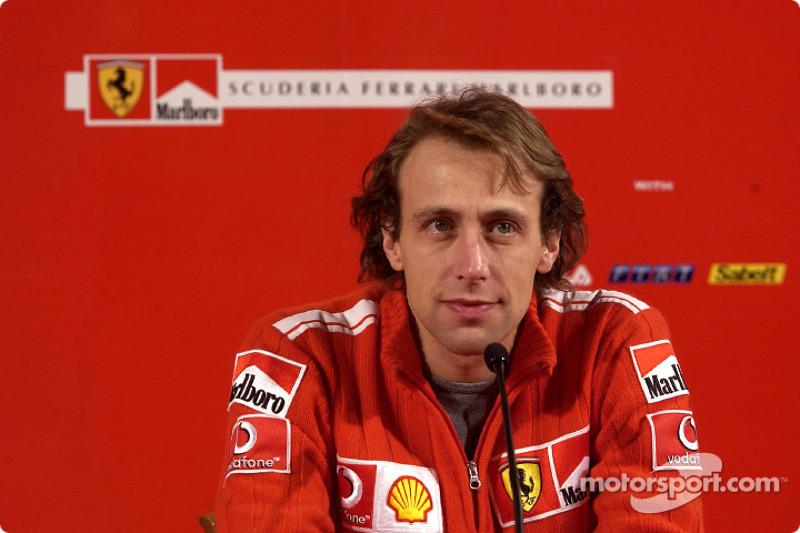 Badoer comfortable at Ferrari