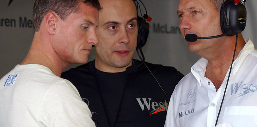 McLaren supporting Coulthard title challenge