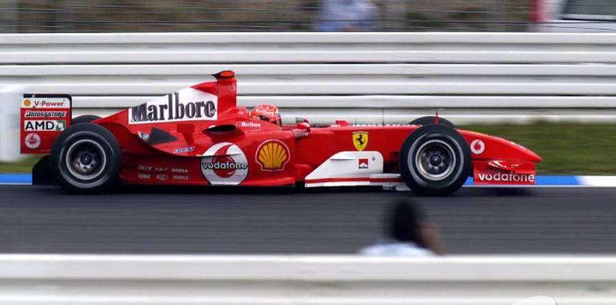 Schumacher victorious at German GP