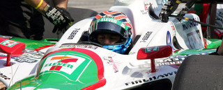 IndyCar IPS: IRL: Kanaan, Dana top practice before Michigan rain