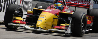 IndyCar CHAMPCAR/CART: Bourdais spins to win in Denver