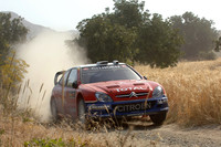 Loeb two minutes ahead after rough start to Cyprus