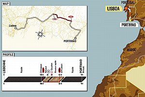 Dakar: Stage 1 Lisbon to Portimao notes