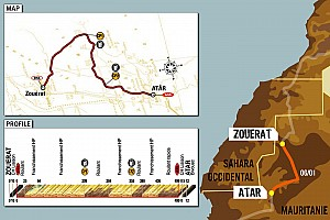 Dakar: Stage 7 Zouerat to Atar notes