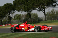 Schumacher scorches to San Marino GP pole