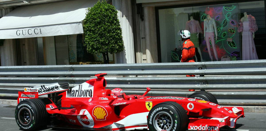 Schumacher on pole position for Monaco GP