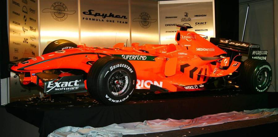 Spyker reveals its new F8-VII challenger