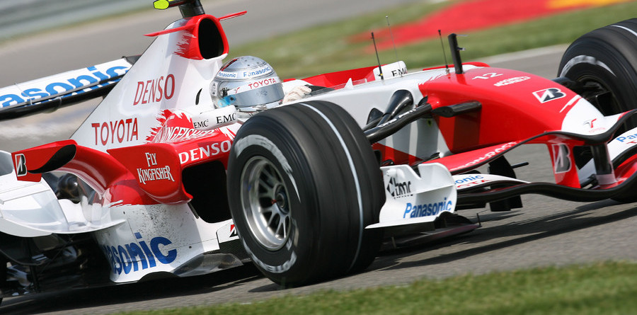 Trulli puts Toyota at top of test times again
