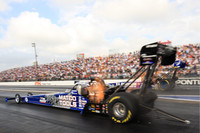 Brown makes NHRA history in Houston